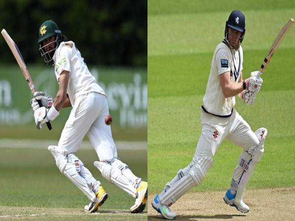 Haseeb Hameed and Sam Billings (Photo/ England Cricket Twitter)