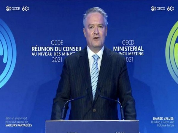 Mathias Corman, Secy General of the OECD (Credits: Kyodo News)