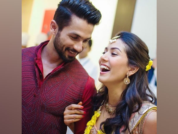Celebrity couple Shahid Kapoor and Mira Kapoor (Image Source: Instagram)