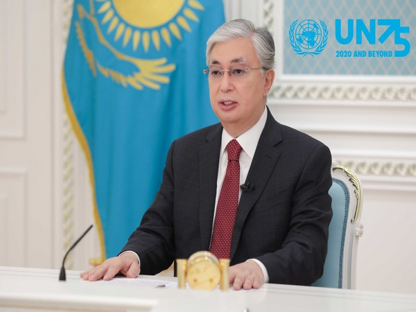 President of Kazakhstan Kassym-Jomart Tokayev participated in the 75th-anniversary session of the UN General Assembly