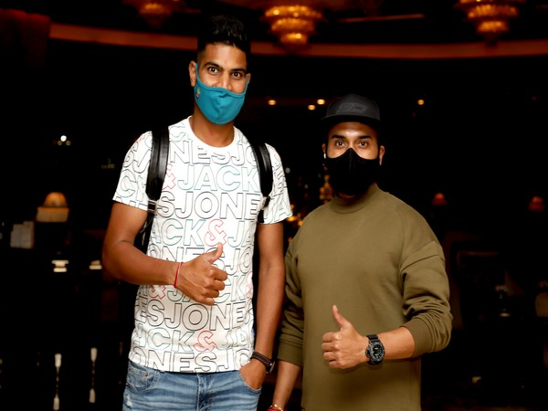 DC players Lalit Yadav and Amit Mishra (Photo/ Delhi Capitals)
