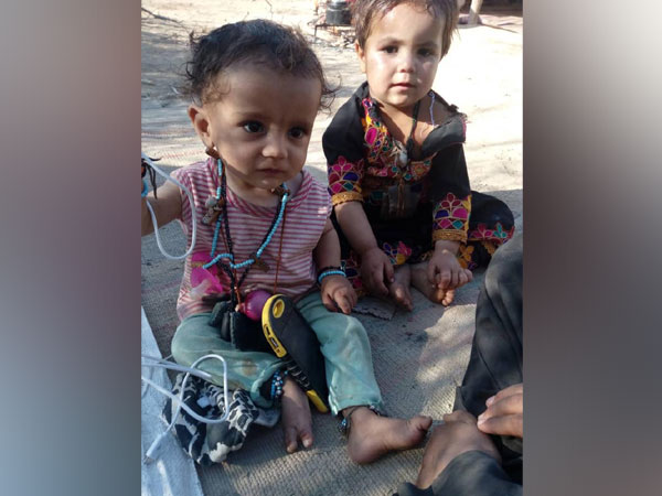 The children of Saleema Bangulzai, the Baloch woman who was abducted by Pakistan Army.