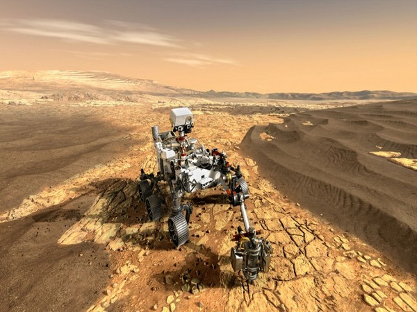 NASA's Perseverance rover, shown in this artistic rendering (Image Credit: NASA/JPL/Caltech/Provided)