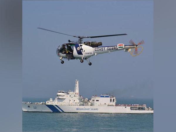 Representative image (Photo/Twitter/Indian Coast Guard)