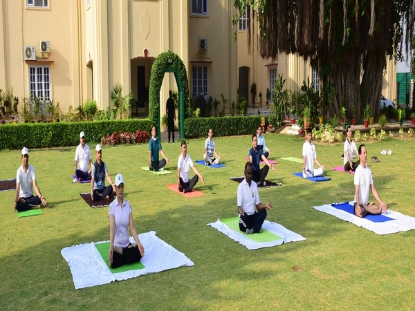 The Lieutenant Governor, in his message, encouraged the people to practice Yoga from their homes during the challenging situation due to COVID-19 pandemic.
