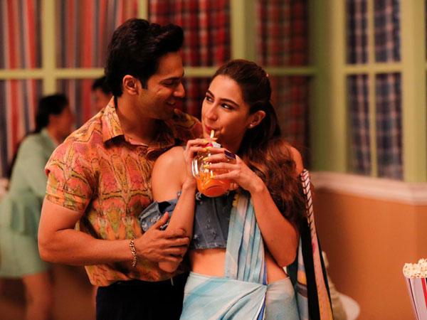 Sara Ali Khan and Varun Dhawan (Image courtesy: Instagram)