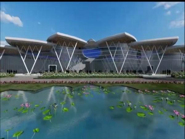 Blueprint of Shivamogga Airport (Photo/ANI)