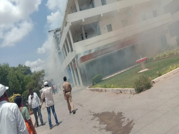 A short circuit resulted in the accident. No casualties were reported. (Photo/ANI)
