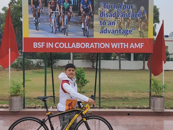 10-year-old Sparsh spearheads Kashmir to Kanyakumari Infinity Ride 2020