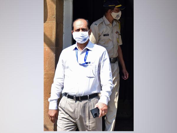 Mumbai Police officer Sachin Waze. [Photo/ANI]