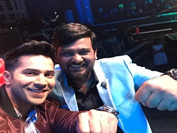 Varun Dhawan and Wajid Khan (Image courtesy: Instagram)