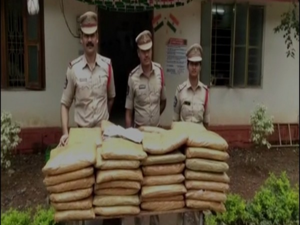 Police recovers 108 kg cannabis from the residence of a rural medical practitioner. Photo/ANI