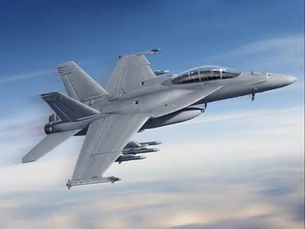 F-18 fighter jet.