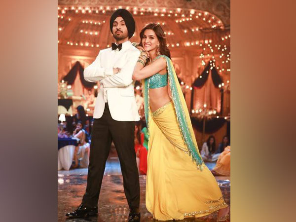 Diljit Dosanjh and Kriti Sanon, Image Courtesy: Instagram