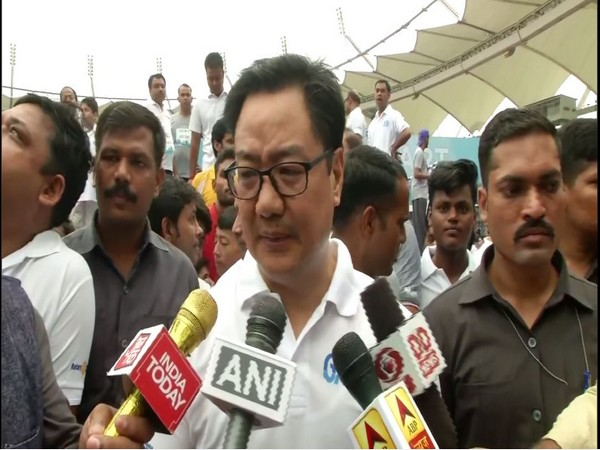 Union Minister for Youth Affairs and Sports, Kiren Rijiju