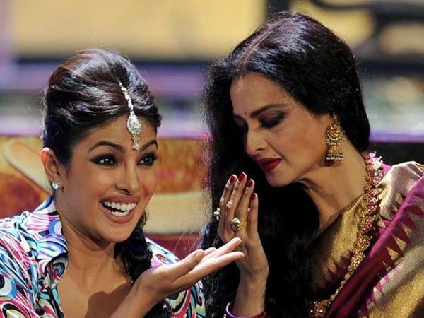 Priyanka Chopra, Rekha (Image source: Instagram)
