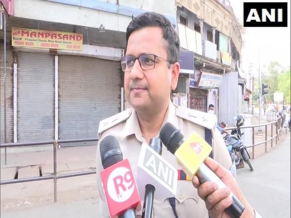 Superintendent of police Anish Gupta