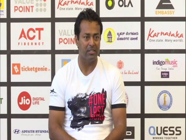 Tennis player Leander Paes