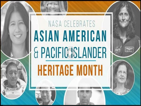Thumbnail of NASA's 'AAPI community' YouTube video showing members of the Asian American and Pacific Islander community at NASA.