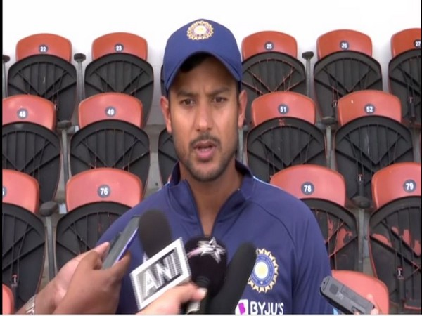 India opening batsman Mayank Agarwal