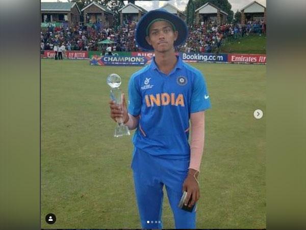 Batsman Yashasvi Jaiswal (Photo/ Yashasvi Jaiswal Instagram)