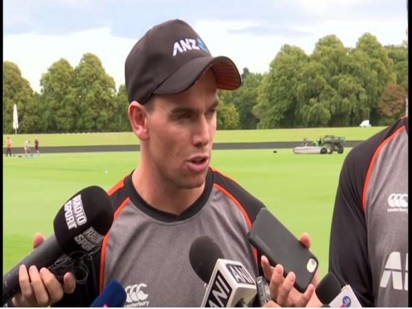 New Zealand batsman Tom Latham