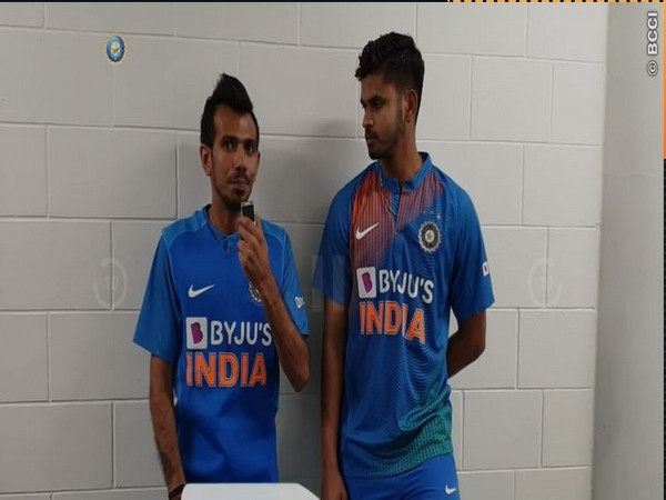 Yuzvendra Chahal with Shreyas Iyer (Photo/ BCCI)