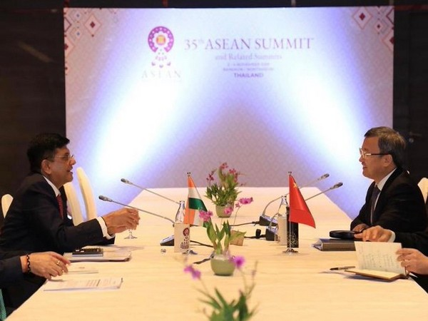 Commerce Minister Piyush Goyal and Chinese Vice-Minister of Commerce, Wang Shouwen
