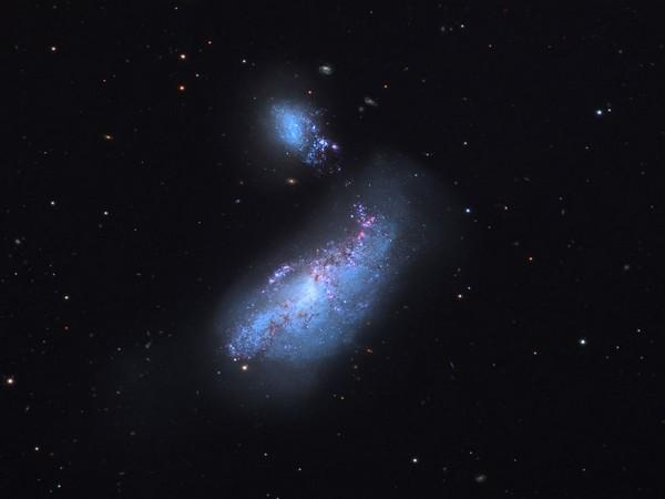 Image of NGC 4490 and NGC 4485