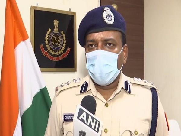 Delhi Police spokesperson Chinmoy Biswal speaking to ANI in New Delhi on Friday. [Photo/ANI]