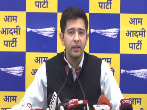 AAP national spokesperson Raghav Chaddha. [File Photo/ANI]