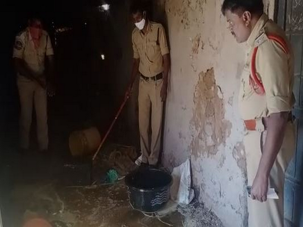 Telangana Police on Monday have destroyed 200 liters of jaggery wash kept ready for making country liquor.