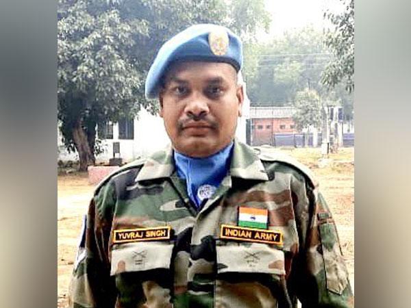 Indian UN Peacekeeping officer Corporal Yuvraj Singh