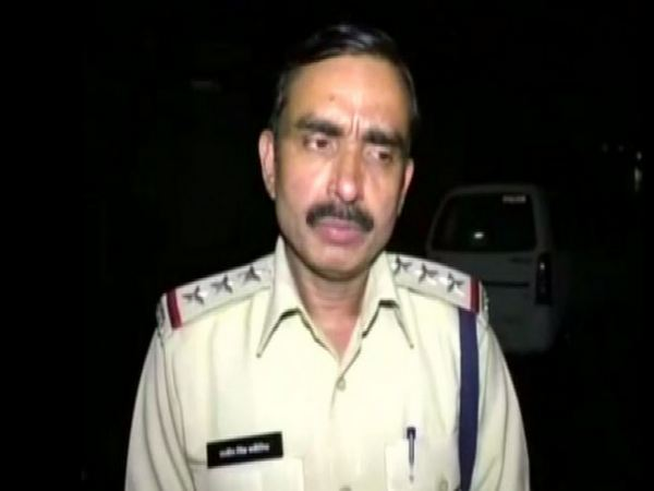 SHO of Hira Nagar Police Station Rajeev Bhadoria talking to ANI on Saturday. Photo/ANI