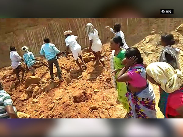 The incident site at Tileru village of Narayanpet district. Photo/ANI