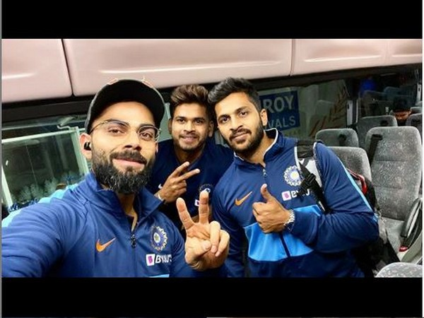 Virat Kohli with Shreyas Iyer and Shardul Thakur (Photo/ Virat Kohli Instagram)
