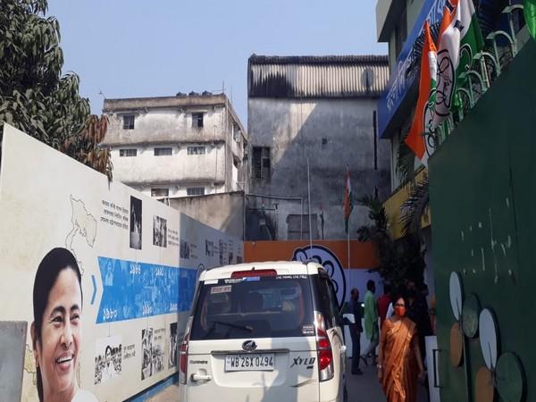 TMC Bhawan in Kolkata. (Photo/ANI)