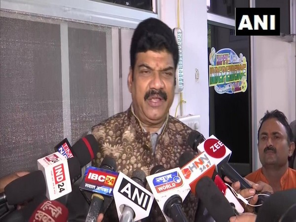 Madhya Pradesh Transport Minister Govind Singh Rajput on Thursday speaking to media persons in Bhopal. Photo/ANI