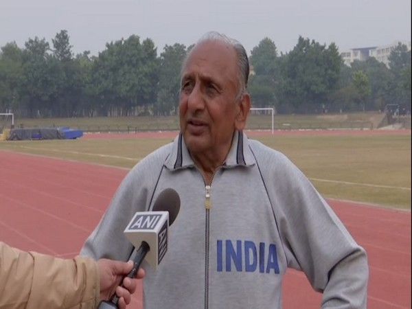 Veteran athlete GS Saunkhla