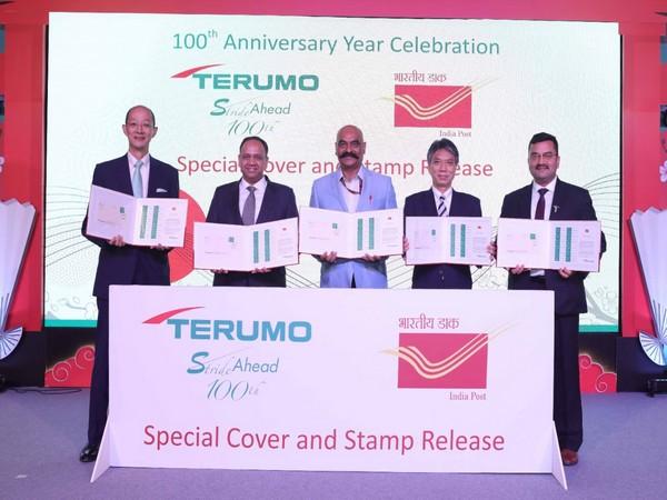 Kenji Sugino - JCCII, Mr Shishir Agarwal - MD, Terumo India, Shri Ashok Kumar - Postmaster General, Delhi Circle, Mr Yasuyuki Murahasi - JETRO India, Dr Amit Garg - Director, Medical Affairs, Terumo