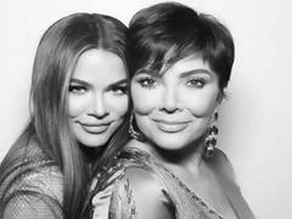 Khloe Kardashian with mother Kris Jenner