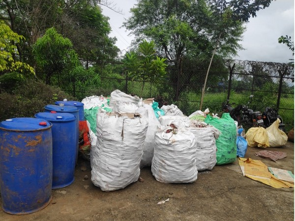The haul of fake tobacco products in Jajpur.