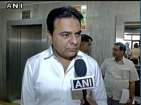 Telangana IT and Industries Minister KT Rama Rao. (File Photo/ANI)