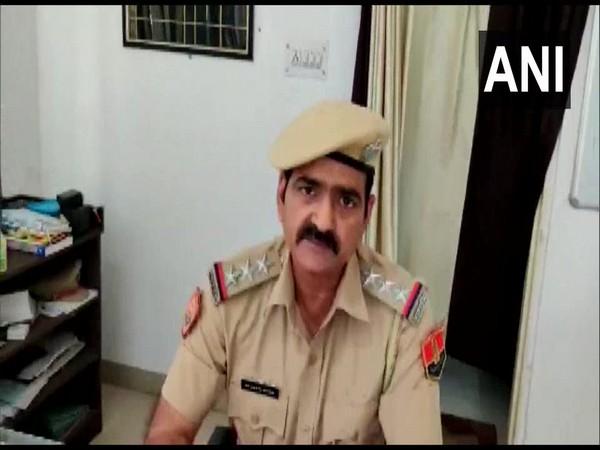 Jaipur Station House Officer Kho Nagoriyan speaking to media on Friday.