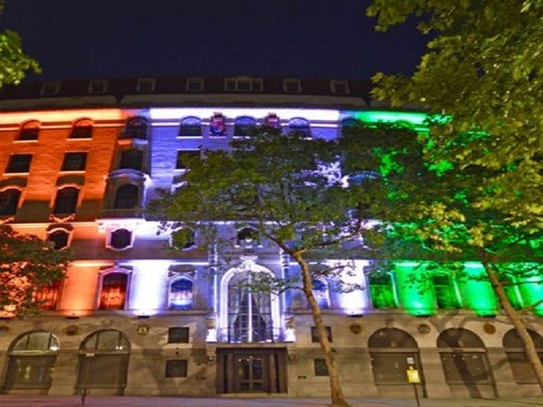 Indian High Commission in London (Photo Credits: Twitter/ India in the UK)