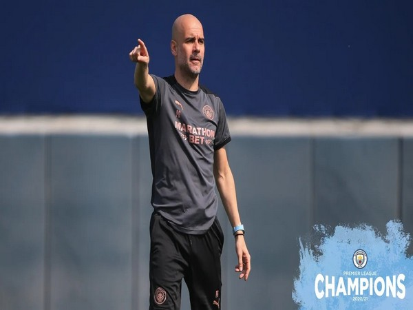 Manchester City manager Pep Guardiola. (Photo/ Manchester City twitter)