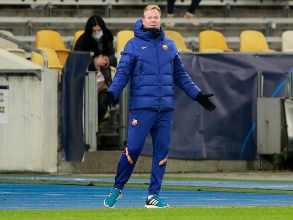FC Barcelona coach Ronald Koeman.