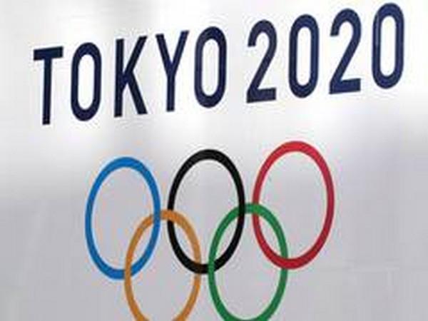 Tokyo 2020 logo.