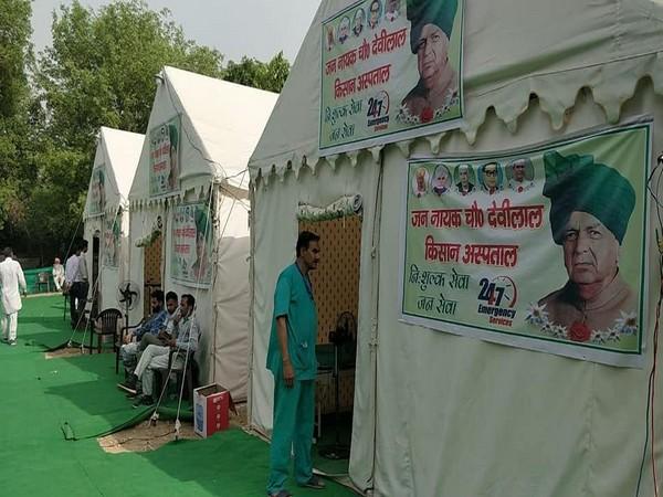 Three medical wards at Tikri Border. [Photo: INDL Facebook]