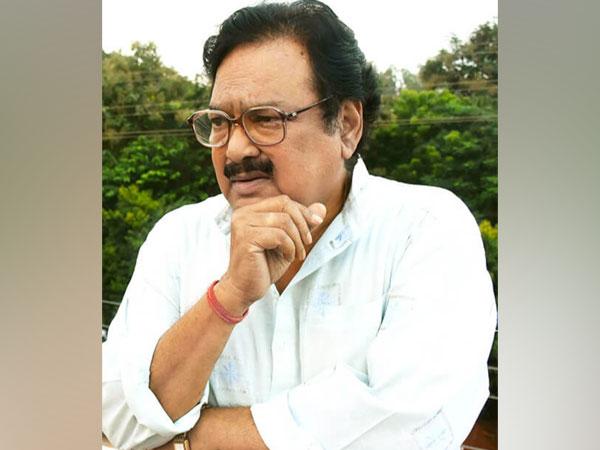 Veteran Odia film personality Ajit Das.
